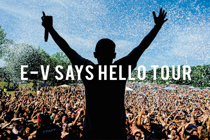 E-V says Hello Tour youtube