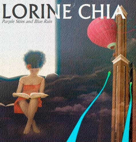 Lorine Chia - Purple Skies & Blue Rain